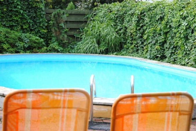 Pirtis ir lauko baseinas Palangoje, apartamentų komplekse Palangos saulėgrąža - 8