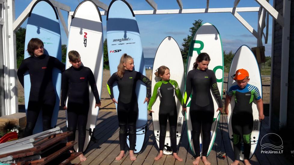 """""""Aktyvaus stovyklavimo"""" stovyklos vaikams ir jaunimui prie jūros ir Kuršių marių - 1"""