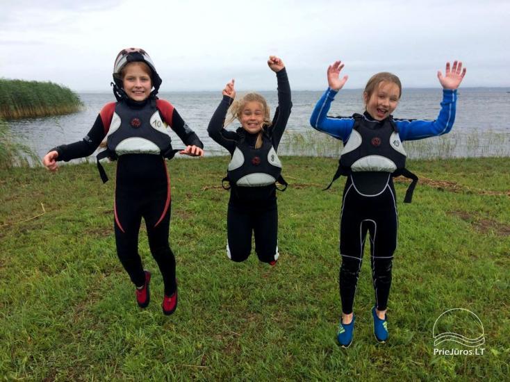 """""""Aktyvaus stovyklavimo"""" stovyklos vaikams ir jaunimui prie jūros ir Kuršių marių - 10"""
