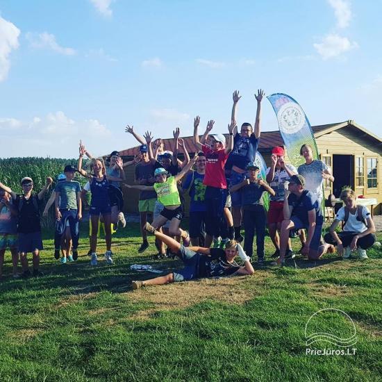 """""""Aktyvaus stovyklavimo"""" stovyklos vaikams ir jaunimui prie jūros ir Kuršių marių - 13"""