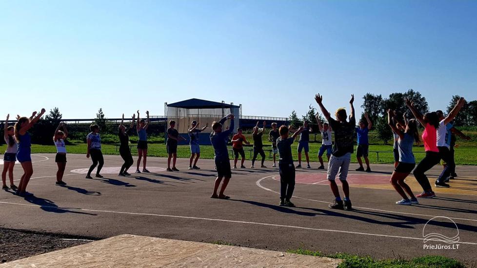 """""""Aktyvaus stovyklavimo"""" stovyklos vaikams ir jaunimui prie jūros ir Kuršių marių - 14"""
