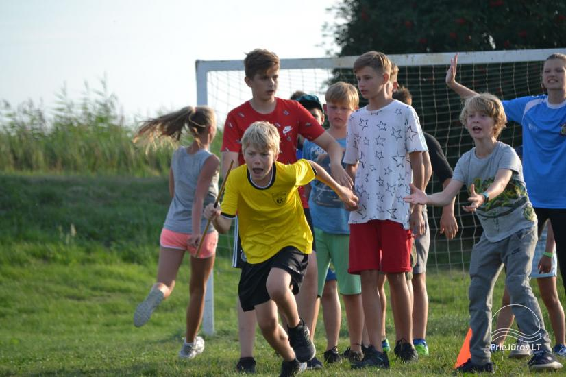 """""""Aktyvaus stovyklavimo"""" stovyklos vaikams ir jaunimui prie jūros ir Kuršių marių - 23"""