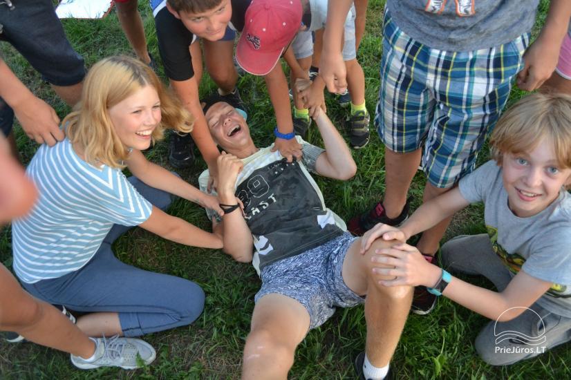"""""""Aktyvaus stovyklavimo"""" stovyklos vaikams ir jaunimui prie jūros ir Kuršių marių - 24"""