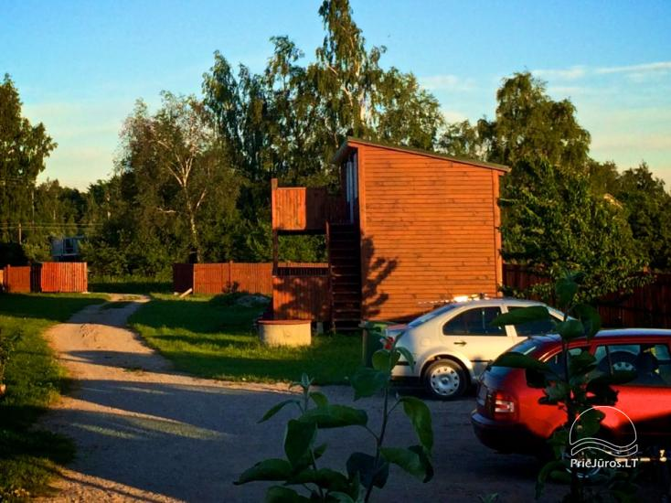 Holiday houses in Sventoji. Places for tents and campers. - 1
