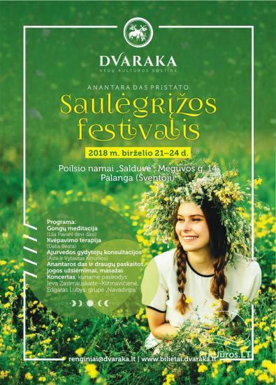 JONINĖS Saulėgrįžos festivalis, 2018 m. birželio 21 d. 15:00 val. - 2