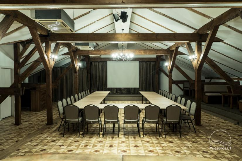 """Nesė""  50-100 seat banquet hall for rent in the old town of Klaipeda - 1"