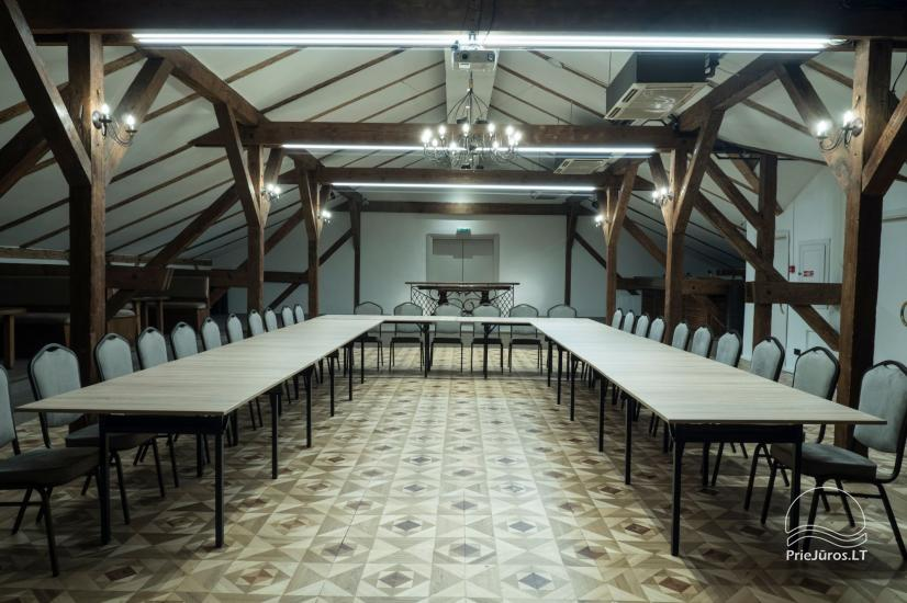 """Nesė""  50-100 seat banquet hall for rent in the old town of Klaipeda - 4"