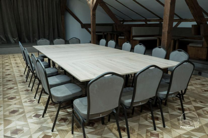 """Nesė""  50-100 seat banquet hall for rent in the old town of Klaipeda - 2"