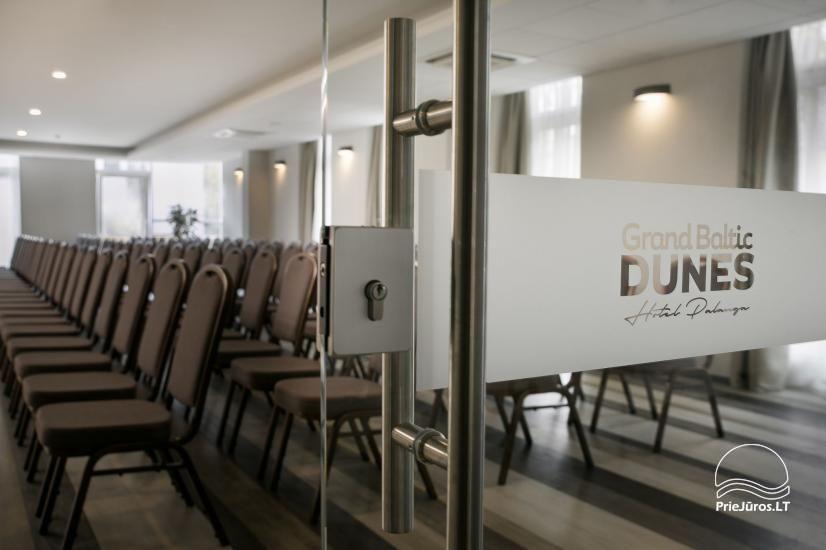 Konferencijų salės viešbutyje Grand Baltic DUNES - 1