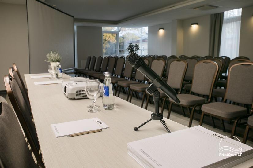 Konferencijų salės viešbutyje Grand Baltic DUNES - 3