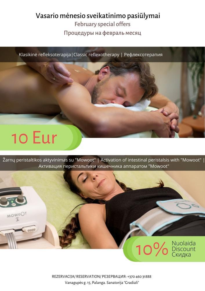 Gradiali vasario mėnesio sveikatinimo pasiūlymai! - 1