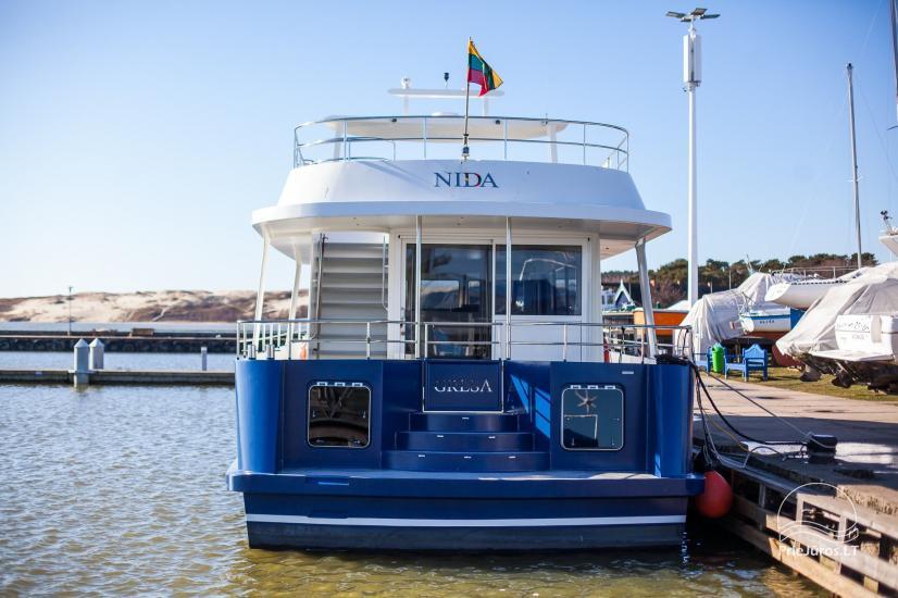 Ship rental in Nida. The newest design ship GRESA - 7
