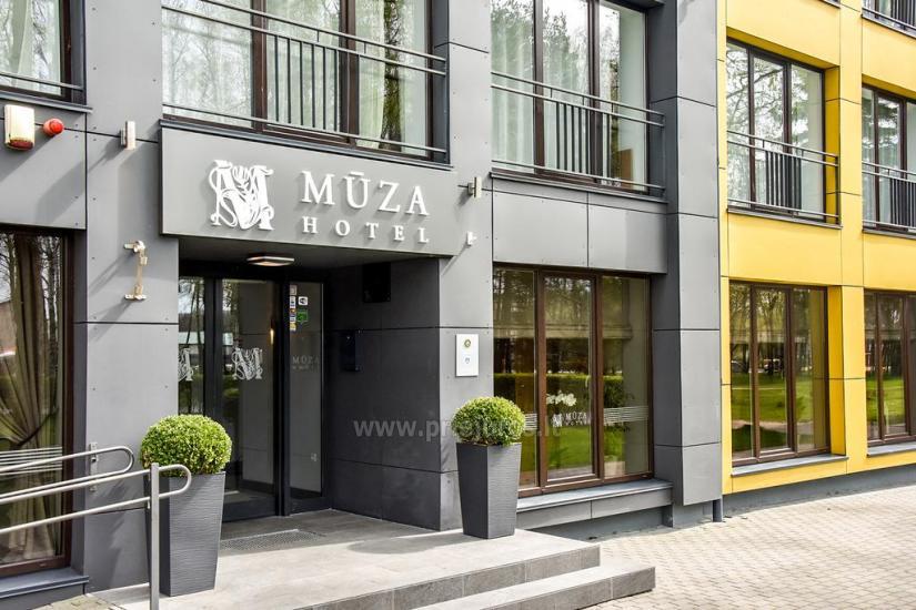 Konferenču zāle viesnīcā Muza - 11