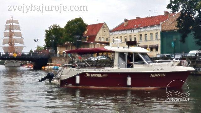 Laivo HUNTER nuoma žvejybai ir šventėms - 1
