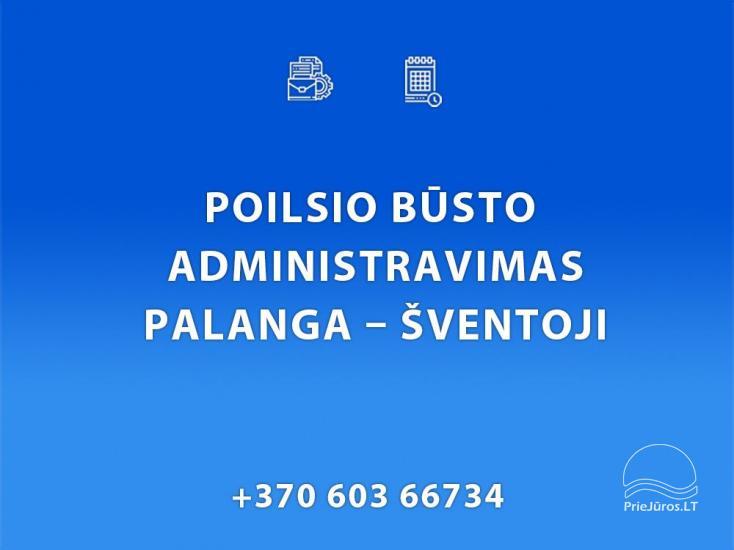 Housing administration in Palanga, Kunigiškės, Šventoji - 1