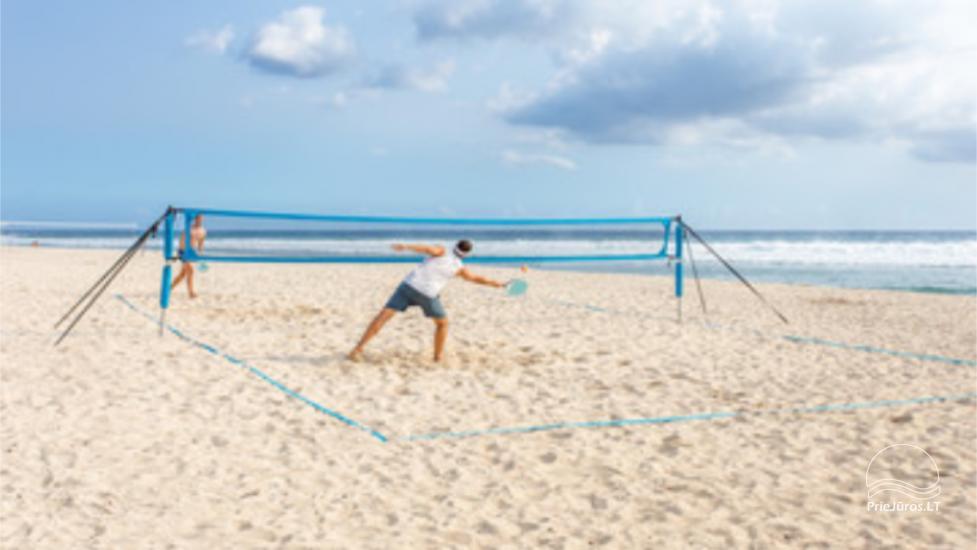 Paplūdimio teniso aikštelės ir inventoriaus nuoma Palangoje - 1
