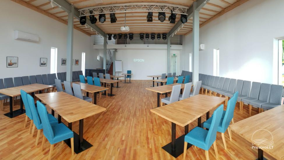 140 sqm. hall for conferences, seminars Elingas - 11