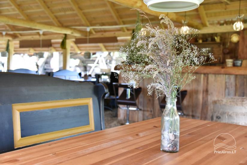 Kafejnīca svētkiem Jurgi Pape 200 pie jūras, 300 m attālumā no ezera - 19