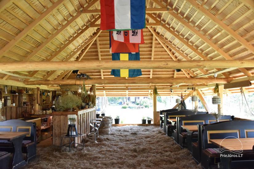 Kafejnīca svētkiem Jurgi Pape 200 pie jūras, 300 m attālumā no ezera - 9