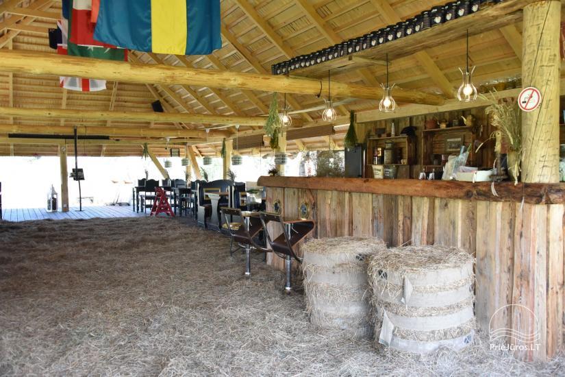 Kafejnīca svētkiem Jurgi Pape 200 pie jūras, 300 m attālumā no ezera - 25