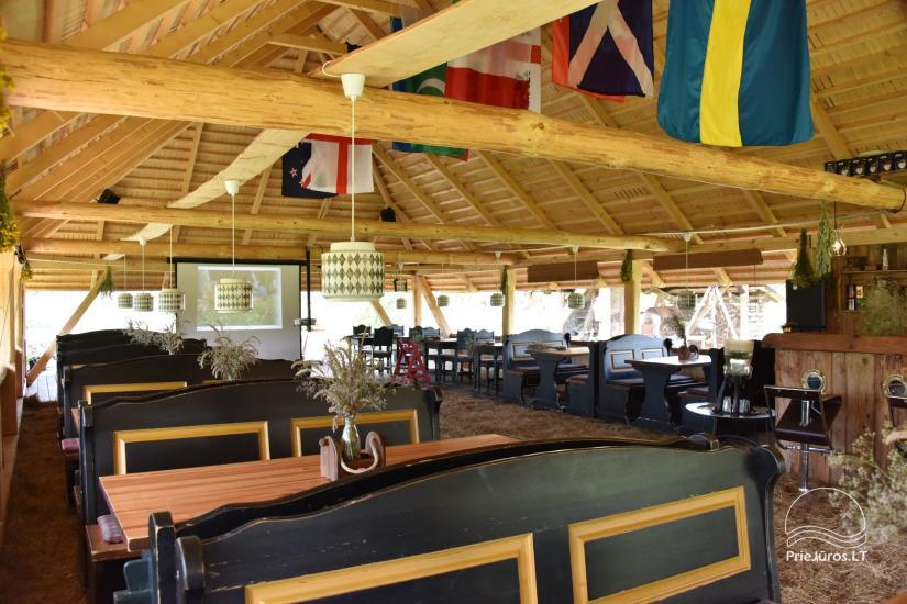 Kafejnīca svētkiem Jurgi Pape 200 pie jūras, 300 m attālumā no ezera - 12