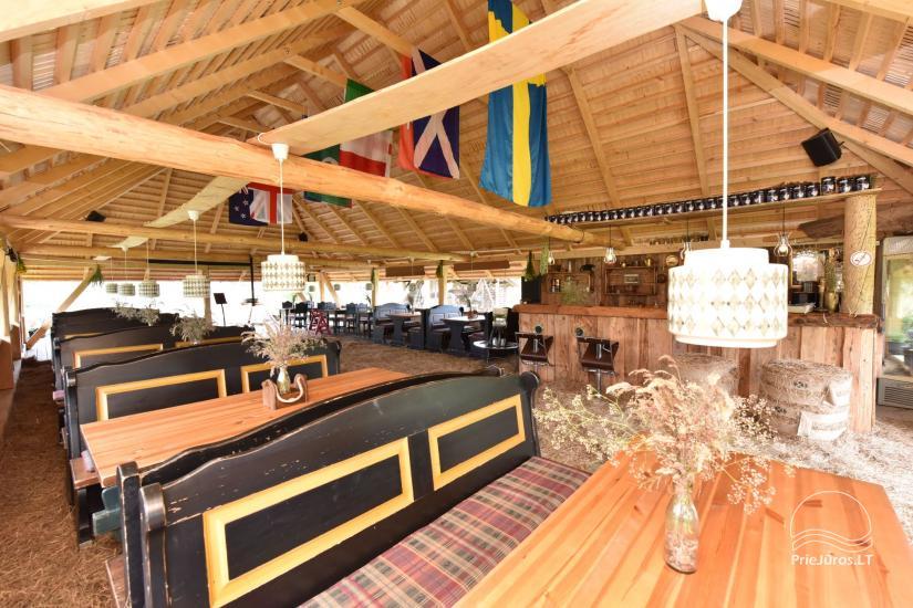 Kafejnīca svētkiem Jurgi Pape 200 pie jūras, 300 m attālumā no ezera - 7