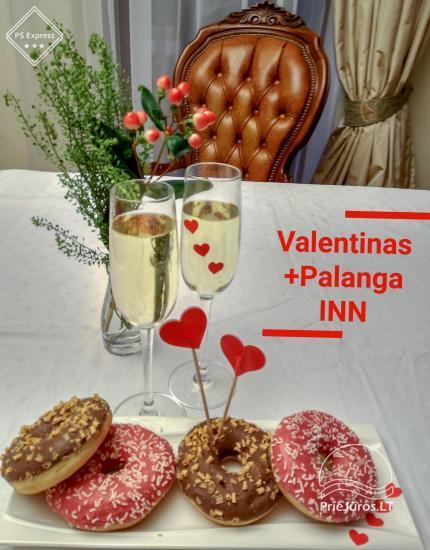 Sutikite Valentino dieną skambant Baltijos jūros bangoms romantiškoje atmosferoje Palanga INN - 3