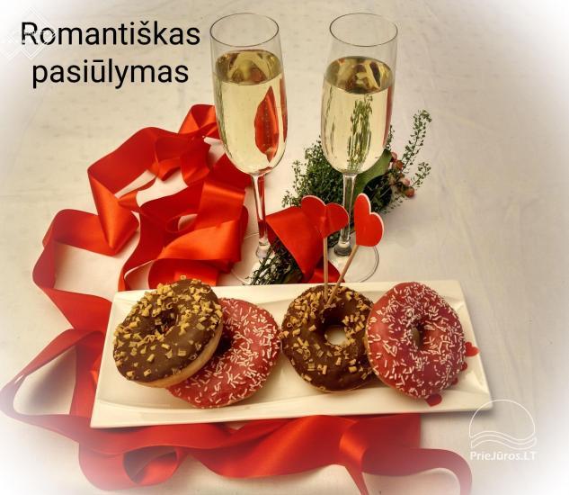 Sutikite Valentino dieną skambant Baltijos jūros bangoms romantiškoje atmosferoje Palanga INN - 1
