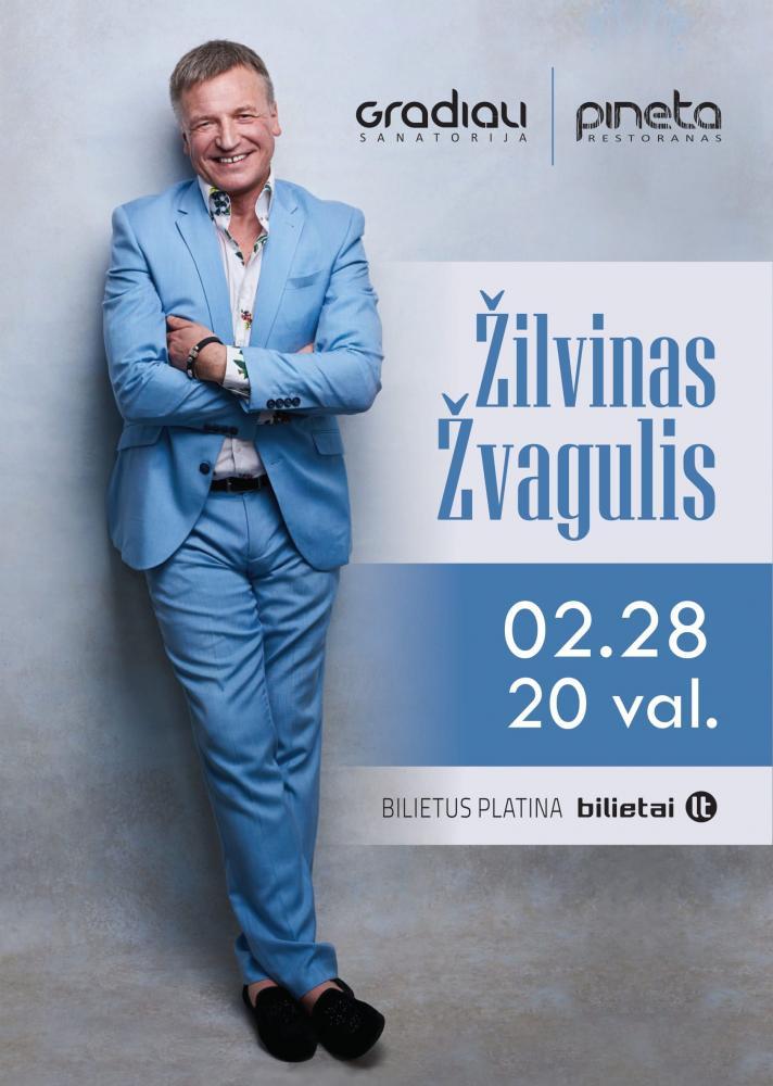 Žilvino Žvagulio koncertas restorane Pineta - 1