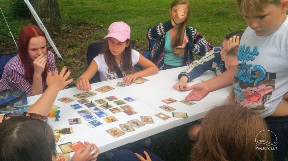 Angļu vasaras nometne par 6-17 gadu bērniem Narnia-2020 English OUTDOORS - 6