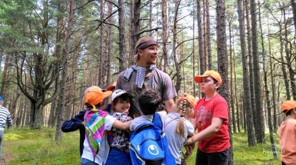 Angļu vasaras nometne par 6-17 gadu bērniem Narnia-2020 English OUTDOORS - 14