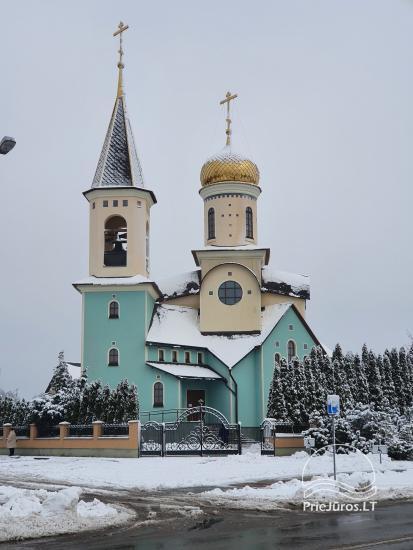 """Palangos Dievo Motinos ikonos """" Iverskaya"""" cerkvė"""