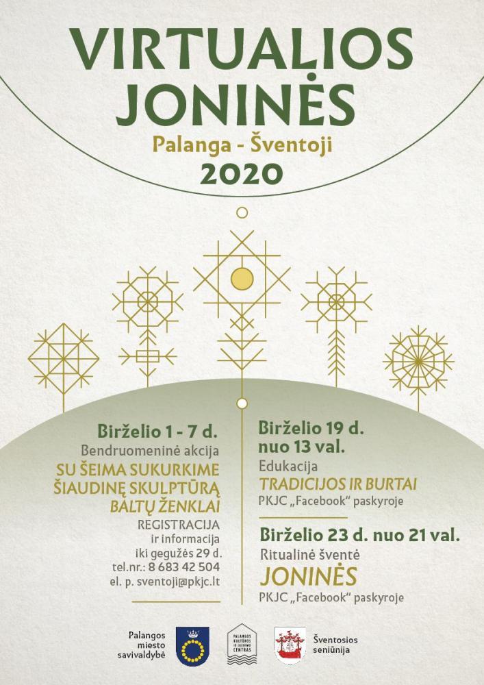 Virtualios Joninės 2020 Palanga-Šventoji - 1