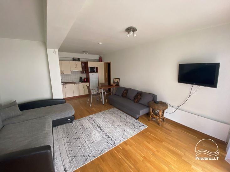 Parduodami dviejų kambarių apartamentai su terasa ant Kuršių Marių kranto - 4