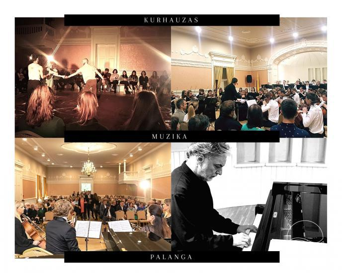 Events in Kurhaus of Palanga 2020 summer