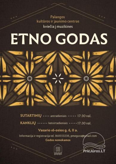 Jaunimo kultūros centras kviečia į Etno godas antradieniais ir ketvirtadieniais