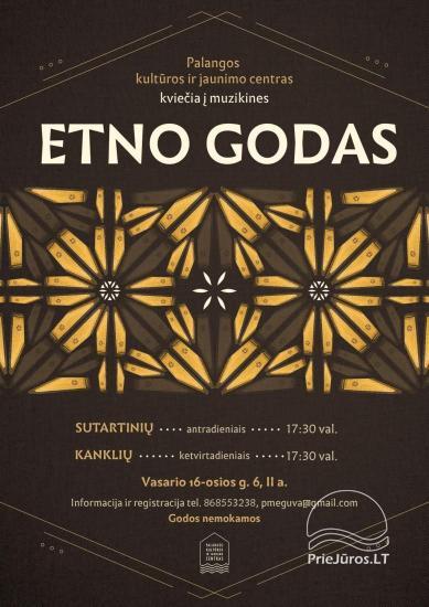 Jaunimo kultūros centras kviečia į Etno godas antradieniais ir ketvirtadieniais - 1