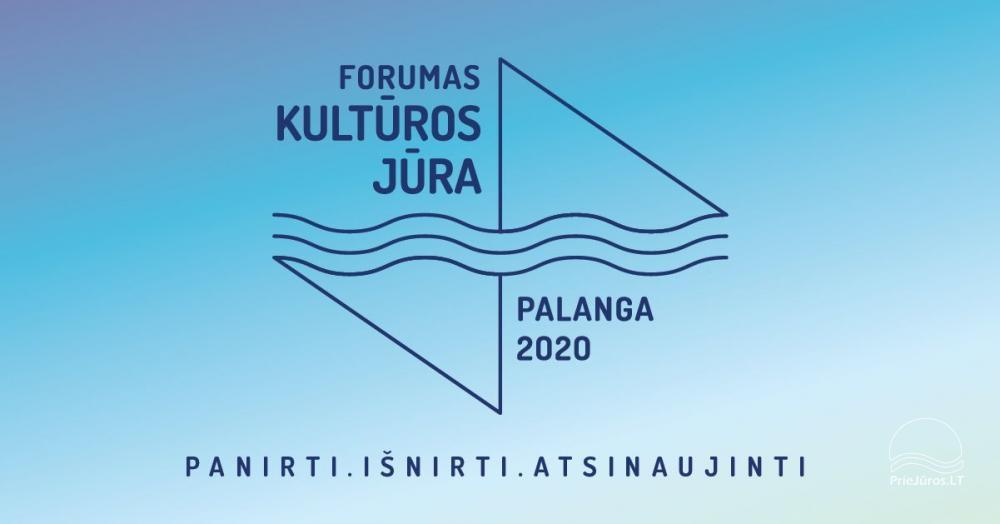 """Pirmą kartą Palangoje - forumas """"Kultūros jūra"""" - 1"""