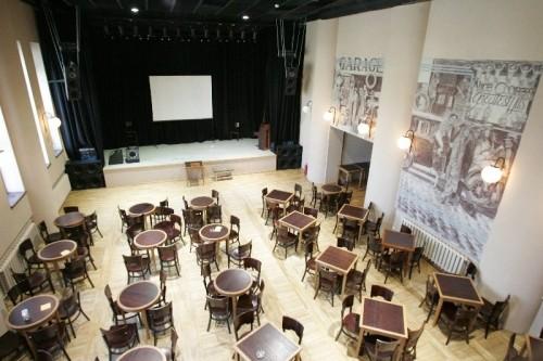 Salė kultūros centre Ramybė