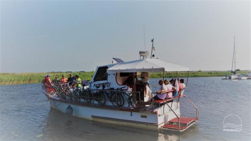Kuģu braucieni līdz 18 viesiem