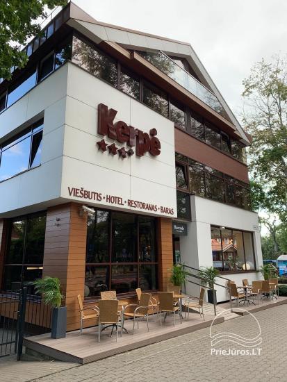 Bārs - restorāns Palangā viesnīcā Kerpe *** - 1