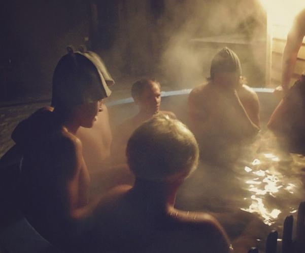 BAURE. Japanese Bath, Outdoor Swimming-pool in Resort in Palanga - 4
