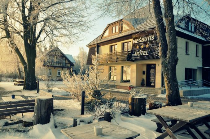 Cafe in Curonian Spit in Hotel PALVA - 3