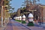 Easter in Palanga. Easter-egg Alley. 2019 April 10-27