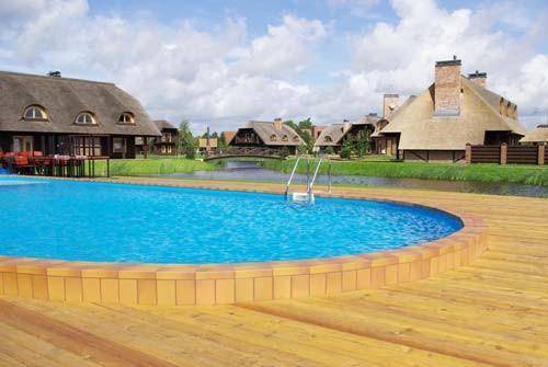 Pirtis, baseinas, grožio procedūros viešbutyje Pajūrio sodyba - 3