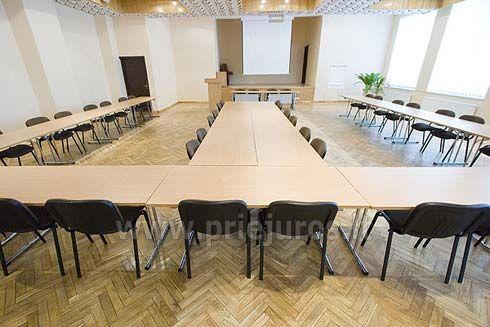 Конференц зал в отеле palangos zuvedra