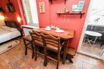 """One-room apartment """"Mara"""" for two persons with balcony (21 sqm.). Kopų 11-11A, Nida - 4"""