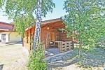 Hölzerne Ferienhütte mit Annehmlichkeiten - 1
