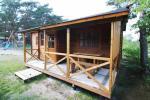 Medinis dviejų kambarių namelis - 15