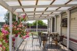 Ferienhütte für bis zu 6 Personen mit Terrasse und Hof - 3